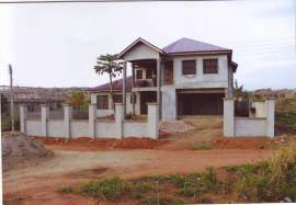 Uncompleted 6 bedroom house for sale at New Bortianor Price: $100,000 Ref Number: ACS-1219007 Proper